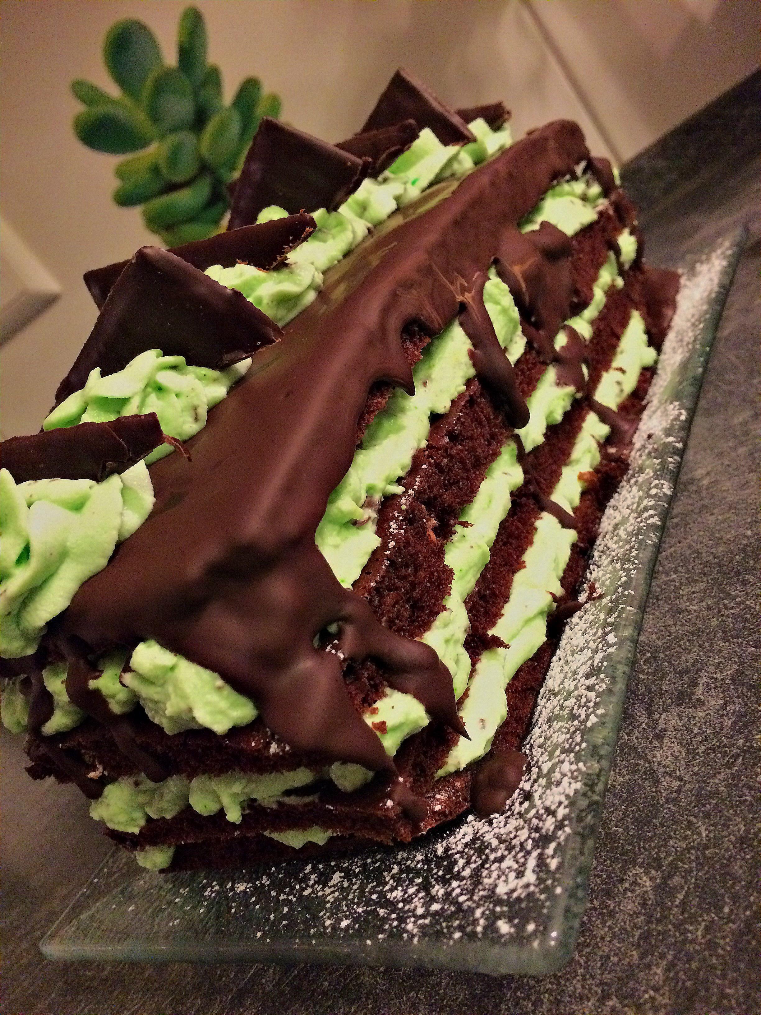 Schoko Minz Torte After Eight Torte Kalorienbomben